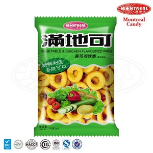 Vegetable & Chicken Flavoured Snack Food