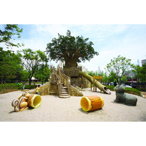 Dari Theme Play System (Outdoor Kids Theme Summer Trees) 0