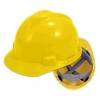 Helm Safety Mdl V-Guard+Inner Nylon+Tali Dagu