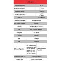 Jual Treadmill X-Run Type XR-21 6 HP 2