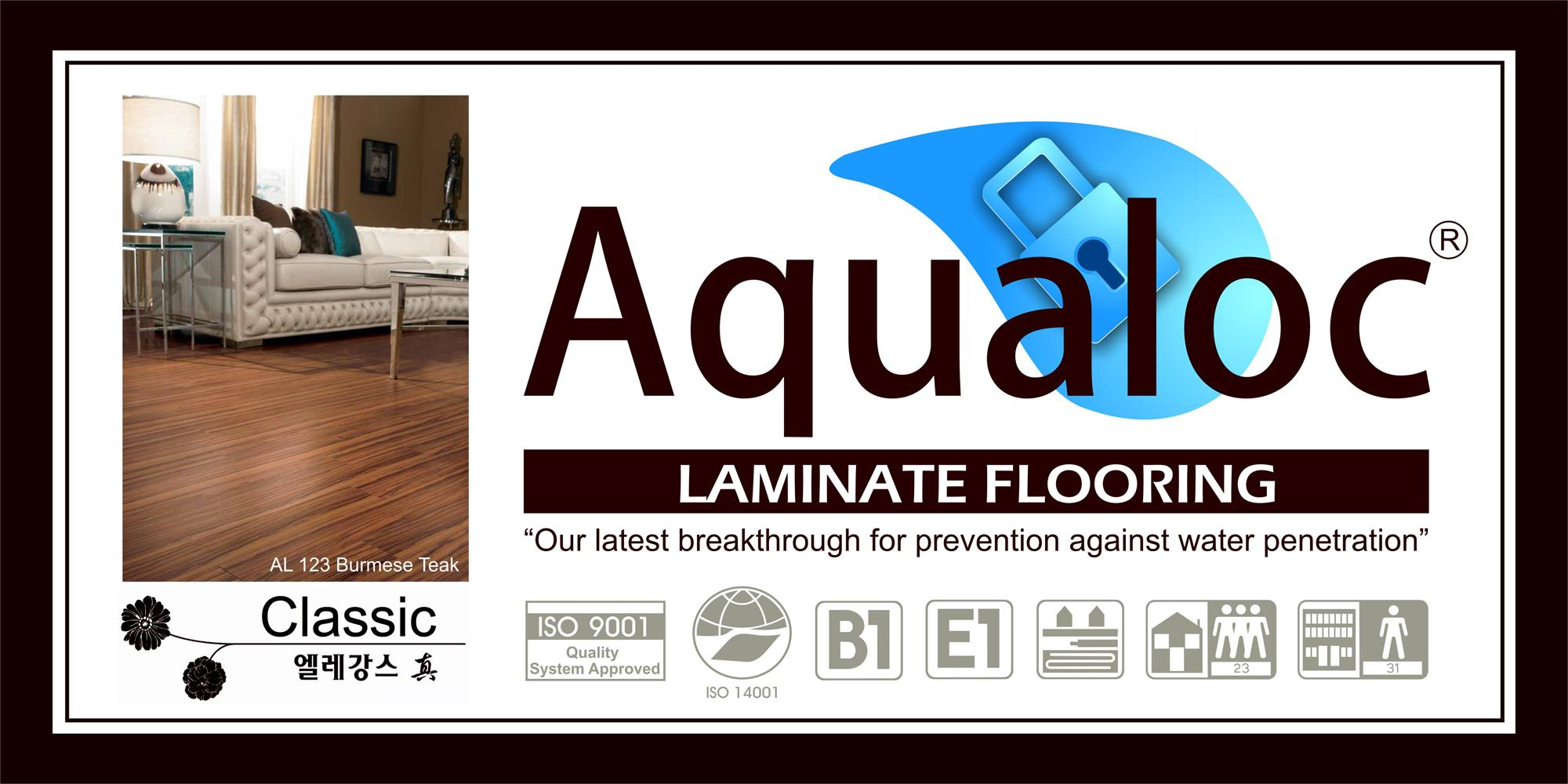 Laminate Floor Aqualoc From Indonesia By Pt Lante Vinyl Cheap