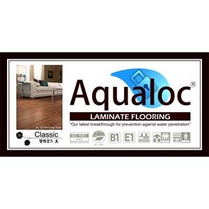 Lantai Kayu Parket Laminate Floor Aqualoc