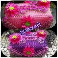 Tempat Tissue Bunga Variasi  1