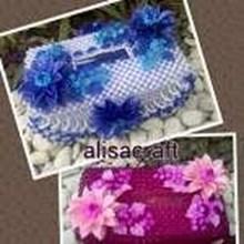 Tempat Tissue Bunga