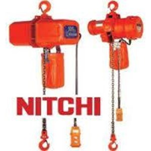 electric hoist 3-ton nitchi mh-5 3phase 380v