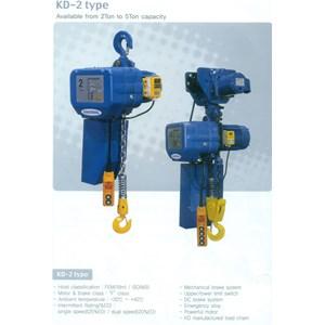KUKDONG ELECTRIC CHAIN HOIST TYPE KD-2