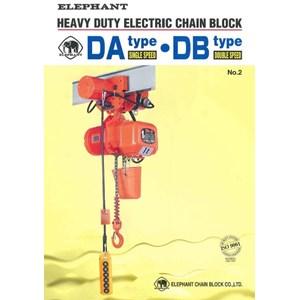ELEPHANT ELECTRIC CHAIN HOIST TYPE DA DB