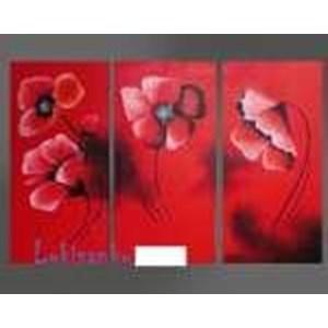 Lukisan Bunga Kode KG31-F