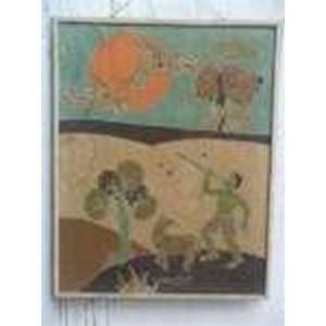 Lukisan Batik Tua