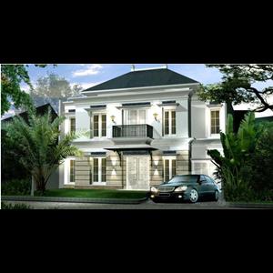 CONTOH BANGUNAN RUMAH CINERE. JANUARI 2012 By PT. Jarrot Triesoonu Architect