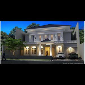CONTOH BANGUNAN RUMAH JL.MOH.YAMIN 56 .JAKARTA PUSAT. DESIGN  AND BUILD By Jarrot Triesoonu Architect
