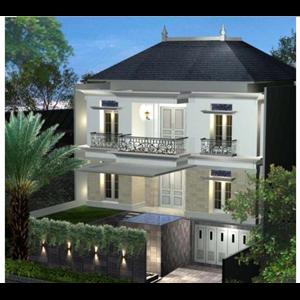 CONTOH BANGUNAN RUMAH  AHMAD YUDHONO. GEDUNG HIJAU 6C NO 132.  By Jarrot Triesoonu Architect