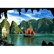 WH28 - Land Only 3D2N Hanoi Halong Cruise Trip Only Rp. 2.100.000/Pax