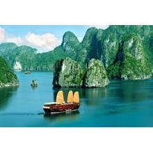 WH28 - Land Only 5D4N Hanoi Halong Stay On Cruise + City Tour Hanoi Only Rp. 3.725.000/Pax