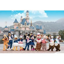 WH25 By CI - 4D Hongkong Disneyland Promotion ( May - Sept'17)  IDR 7.390.000 /pax All In Flight By: China Airlines