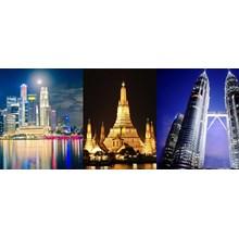 Super Sale Tour 7D 3 Negara Asia (Singapore - Thailand - Kuala lumpur) Dep Sep - Oct'17 All In Price IDR 5.890.000 /pax Flight B