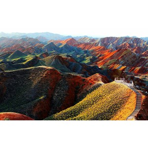 9D Fun Mongolia + Rainbow Mountain Dep Apr-Oct'18 (WH35) Start From IDR 12.900.000 /PAX Flight By: GARUDA INDONESIA