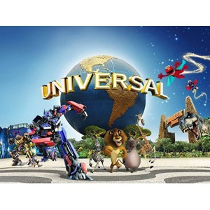 Land Tour 3D Or 4D Universal Studio & Garden By The Bay Valid Apr - Nov'18 (WH01) All In Price IDR 2.080.000 /PAX