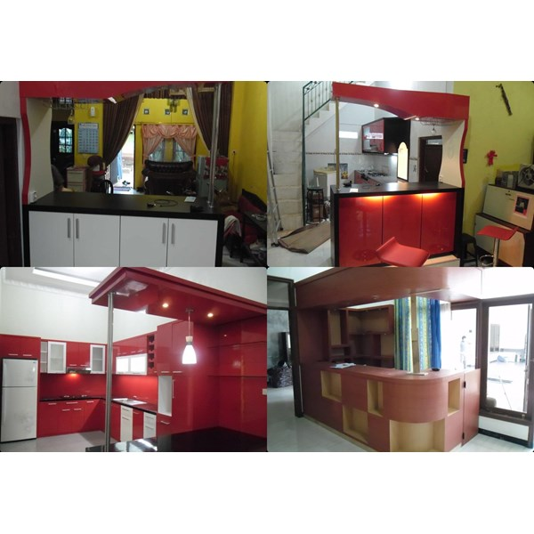 Jasa Kitchen Set Minibar Semarang Oleh Cv Kembang Djati Furniture
