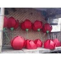 Lampion Bunga Mawar