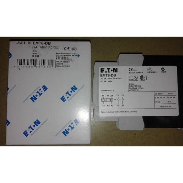 Jual Thermistor Protection Relay Eaton Emt6 Db 24 240vac Dc