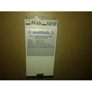 Monitoring Relay Automatic Reset Multitek M200-TTA