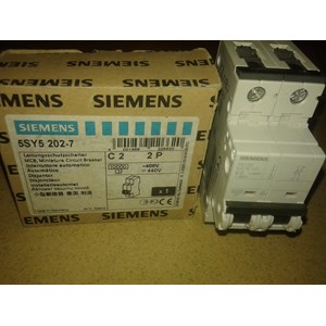 MCB SIEMENS 5SY5 202-7 C2 2P
