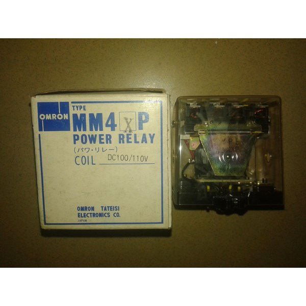 Relay Omron MM4XP DC100 110V