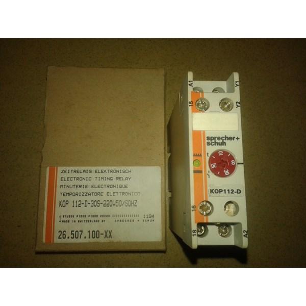 Timing Relay Sprecher Schuh LETTERHEAD 112-D-30S-220V50 60 Hz