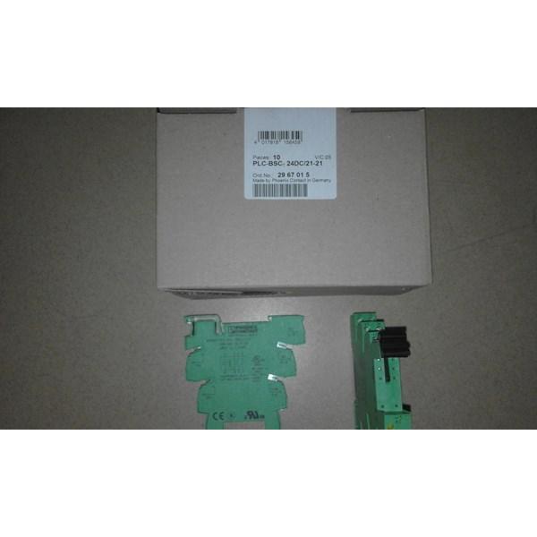 Relay Socket Phoenix Contact PLC-BSC-24DC 21-21