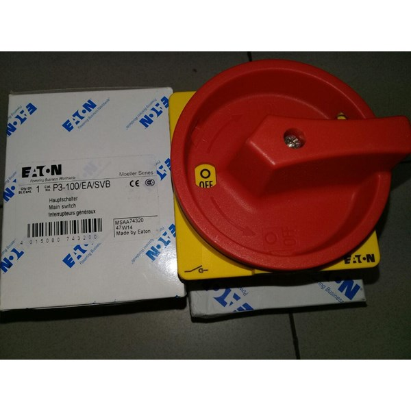 EATON P3-100/EA/SVB Emergency Stop Main Switch