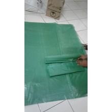 Plastik sampah hijau