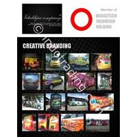 Branding Dan Transit Ads (Mobil, Truck,Bis,Gedung,Ruko, Kapal, Kereta, Pesawat, Motor, Dll) By Vitaldipa  Company All Media Promotions