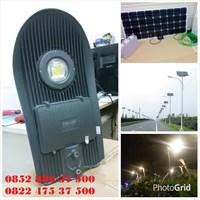Lampu Jalan LED 50W Solar Cell