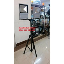Lampu Sorot LED 200 Tiang Tripod