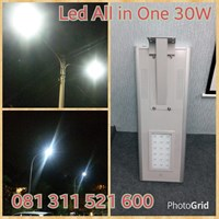 30W LED Street lamp All In One
