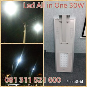 From 30W LED Street lamp All In One 0
