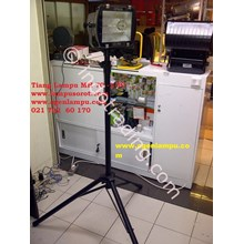 LAMPU SOROT METAL HALIDE 150W + Tiang Tripod