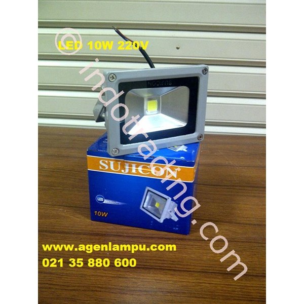 Lampu Sorot LED 10 Watt  Waterproof