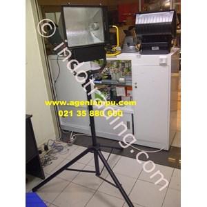 Lampu Sorot HPI-T+ Tiang Portable
