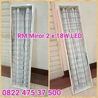 Lampu RM Mirror 2 X TL LED 16W