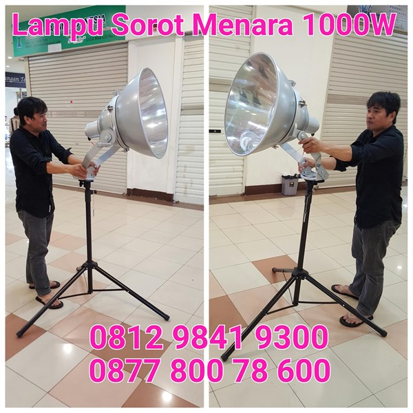 Lampu Sorot 1000W Portabel