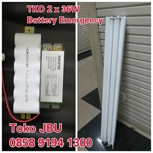 Lampu TL TKO 236 Battery Emergency