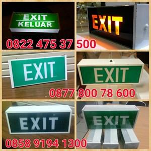 Exit Emergency Lamp