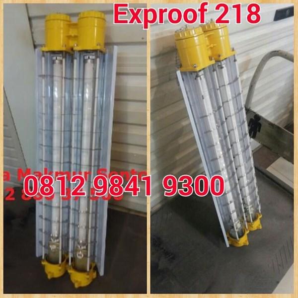 Lampu TL Explossion Proof 2 x 18W