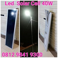 Lampu Jalan PJU LED All In One 40W 1