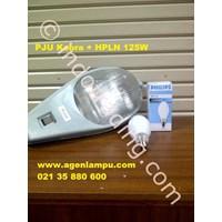 Lampu Jalan PJU Kobra E27 + Mercury 125W 1