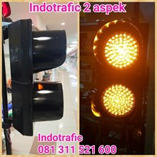 Warning Light 20cm 2aspek  LED Ultrabright