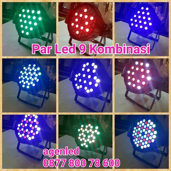 Lampu Disco Par LED 54