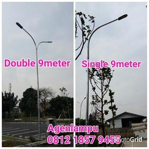 Lampu Jalan Tiang Oktagonal 9 meter